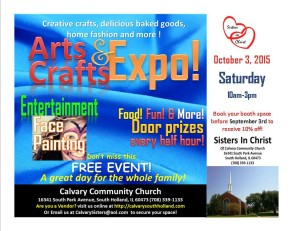 2015 Arts & Crafts Fair @ Calvary Community Church | South Holland | Illinois | United States