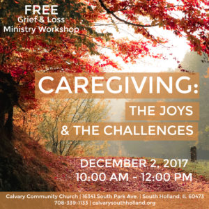 workshop discusses the joys and challenges of caregiving