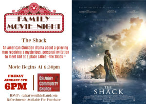 Family Movie Night at Calvary Community Church in South Holland, IL